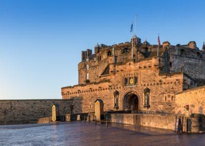 EdinburghCastleMorning