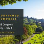 Symposia schedule has been confirmed!