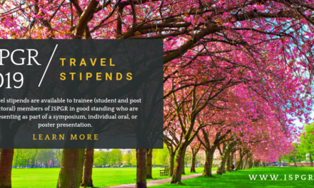ISPGR Travel Stipends now open for applications!